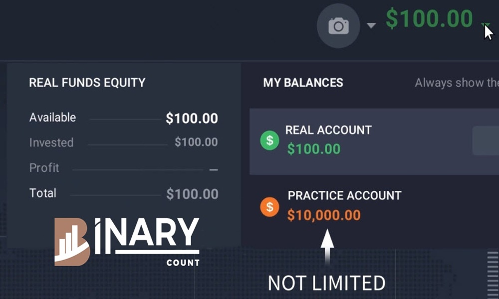 IQ Option Account
